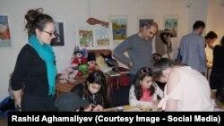 Azərbaycanlı uşaqlar animasiya filmi hazırlayır.