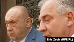 Branitelj Čedo Prodanović i Ivo Sanader, 3. srpnja 2012.