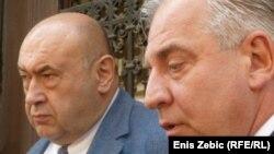 Čedo Prodanović i Ivo Sanader