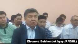 Депутат парламента Кыргызстана Алмамбет Шыкмаматов.