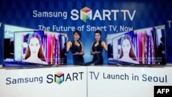 Samsung Electronics yeni smart TV-ni təqdim edir. Arxiv foto