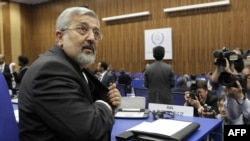 Iran's ambassador to the International Atomic Energy Agency, Ali Asghar Soltanieh (file photo)