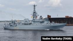 Розвідувальний корабель Чорноморського флоту «Іван Хурс». Санкт-Петербург, 2020 рік