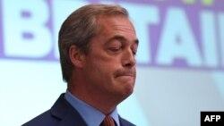 Najdžel Faraž, britanski evroskeptični političar