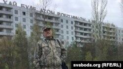Анатоль Гатоўчыц угорадзе Прыпяць