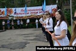 Акція «Стрічка пам'яті» у Луганську, 8 травня 2012 року