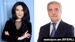 Арпине Ованнисян и Андраник Кочарян