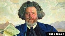 Максимиліан Волошин, портрет Бориса Кустодієва. 1924 рік