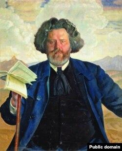 Максимилиан Волошин, портрет Бориса Кустодиева