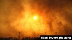 Лесные пожары в Турции, 28 июля 2021 года