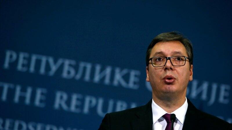 Meeting in Belgrade, Serbian And Bosnian Leaders Seek To Solve Problems