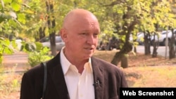 Владимир Козлов, бывший лидер закрытой по суду оппозиционной партии «Алга»