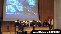 مؤتمر صحفي لمديرية مرور السليمانية