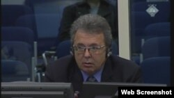 Davor Strinović svjedoči na suđenju Goranu Hadžiću, 7. siječanj 2013.