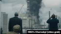A scene from HBO's Chernobyl