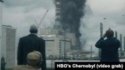 """Кадр из сериала HBO """"Чернобыль"""""""