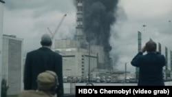 «Çernobıl» serialından kadr