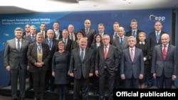 Al șaselea summit al Partidului Popular European, Bruxelles, noiembrie 2017
