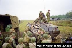 "Бойцы спецназа ""Русь"" в Дагестане, 1999 год"