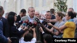Туркойчоь -- Турцин президент Эрдоган Реджеп. Истанбул, 07.05.2016