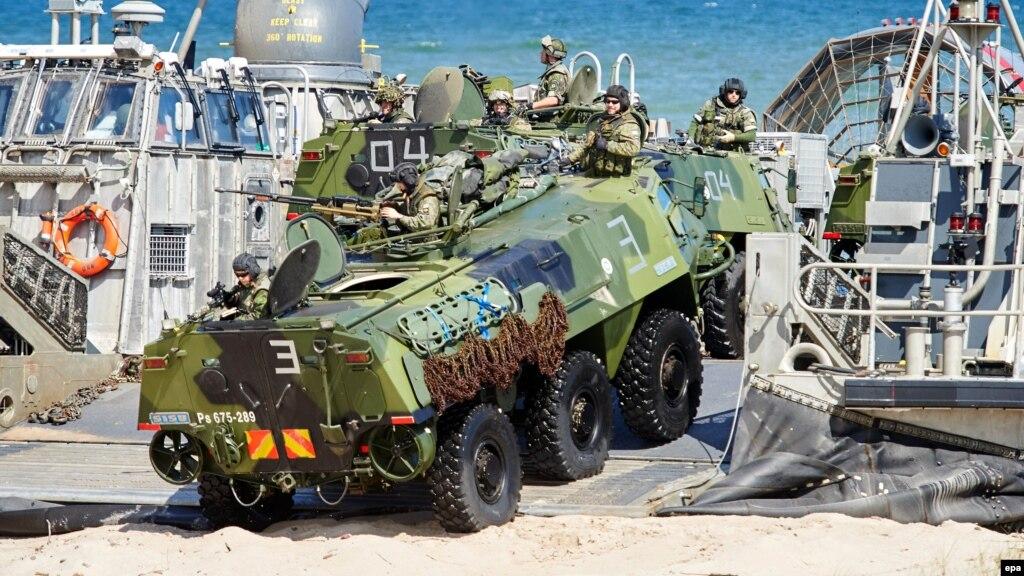 ВПольше начнутся учения сил сверхбыстрого реагирования НАТО