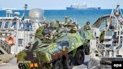 Учения НАТО на Балтике. Апрель 2015 года