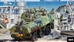 NATO vježbe na Baltiku, juni 2015.