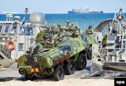 Ілюстративне фото. Навчання НАТО в Польщі. Устка, червень 2015 року