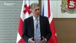 UK's Hammond Says Russia's Conduct 'A Threat To All Of Us'
