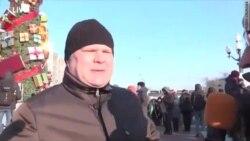 """""""Яблоко"""" на марше антифашистов"""