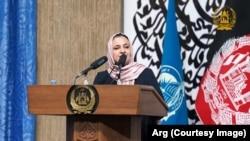 رنگینه حمیدی سرپرست وزارت معارف افغانستان
