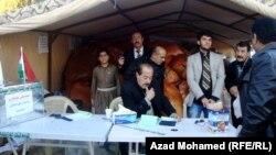السليمانية: احدى حملات اغاثة النازحين السوريين الى كردستان