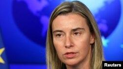 Новый верховный представитель ЕС по внешней политике Федерика Могерини