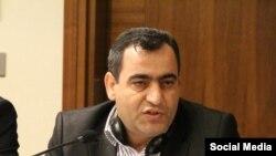 Azerbaijan. Baku. Economist Rovshan Agayev