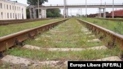 Staţia feroviară din Tiraspol