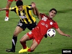 Футбольный матч между сборными Саудовской Аравии и Ирана