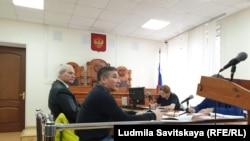 Геннадий Шпаковский в зале суда. Псков