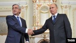 Սերժ Սարգսյանի և Վլադիմիր Պուտինի հանդիպումը սեպտեմբերի 3-ին