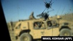 افغانستان کې د امريکايي پوځيانو موتړ (ارشيف)