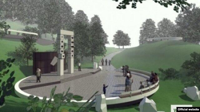 Проект меморіалу професорам, розстріляним 1941 року на Вулецьких пагорбах