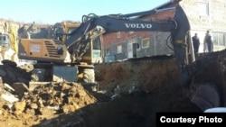Iskopavanje masovne grobnice Raška, decembar 2013. foto: Tužilaštvo za ratne zločine Srbije