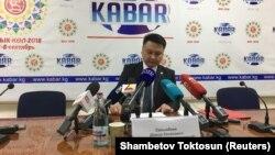 Коопсуздук кеңешинин катчысы Дамир Сагынбаев