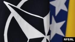 Zastave NATO i BiH