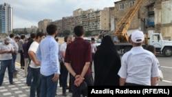 Hacı Cavad Məscidi sökülür