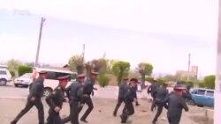 В Балыкчи прошел митинг против добычи урана