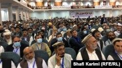 اعضای لویه جرگه مشورتی صلح در کابل