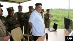Илустрација: Севернокорејскиот лидер Ким Џонг Ун.