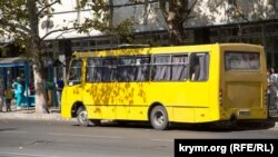 Общественный транспорт в Симферополе, архивное фото