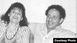Наталия Садомская с мужем Борисом Шрагиным