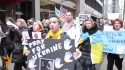 «Світ у відео»: США – «Ні війні!» – закликали у Нью–Йорку